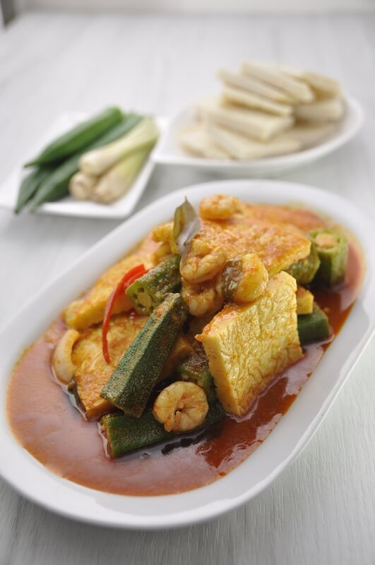 Fish Roe Soy With Curry