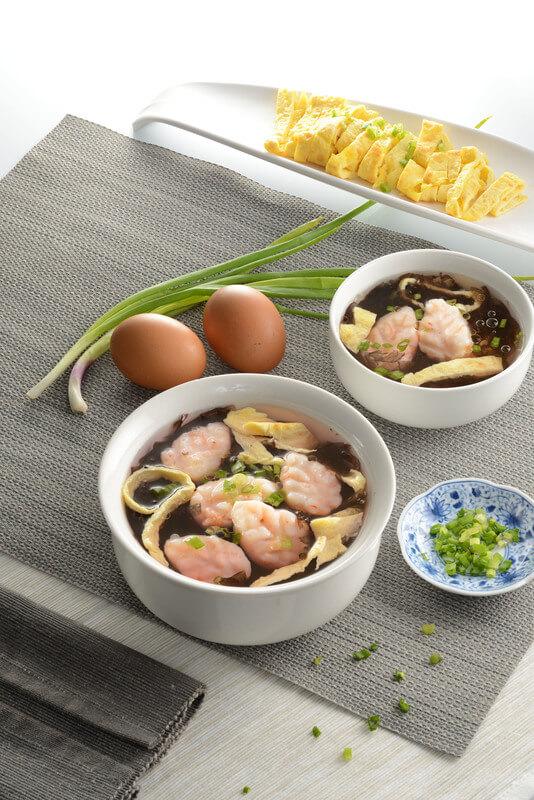 Seaweed Soup with Prawn Paste