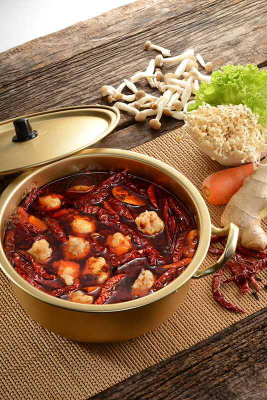 Spicy Hot Pot with Prawn Paste