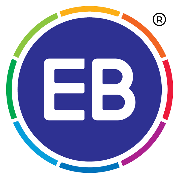 EB Frozen Food logo with transparent background