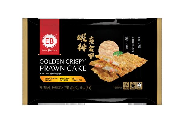 Golden Crispy Prawn Cake