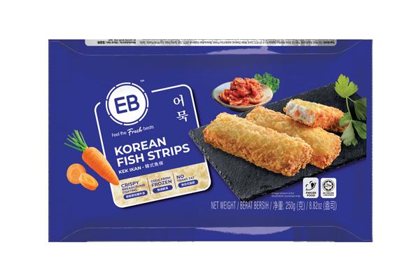 Korean Fish Strips 250g