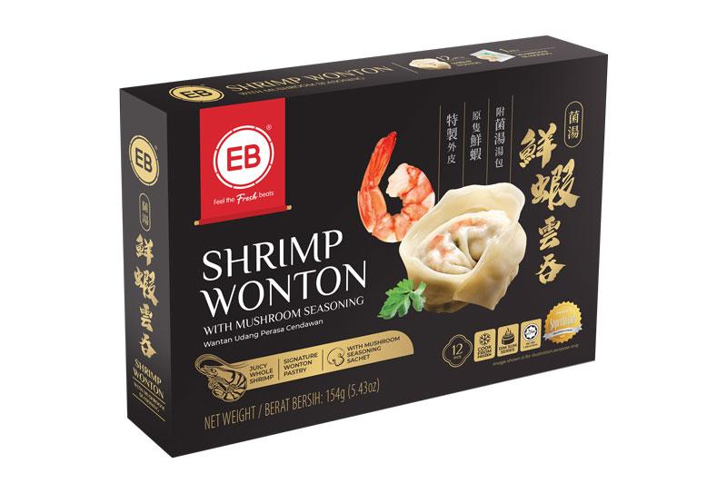 Shrimp Wonton Product Packaging