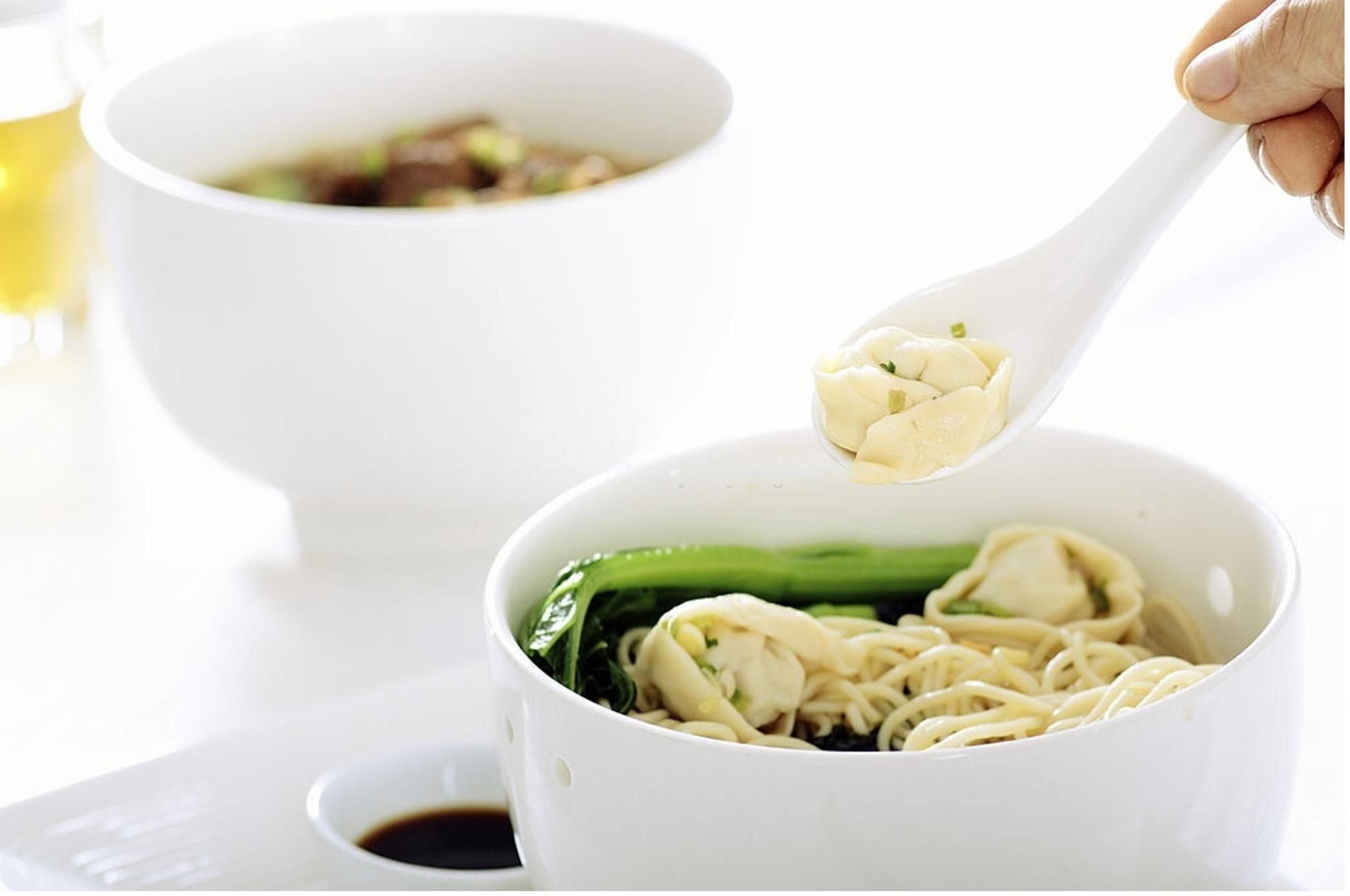 Shrimp Wonton Noodle Soup