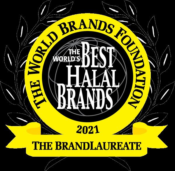 The BrandLaureate World Halal BestBrands 2021