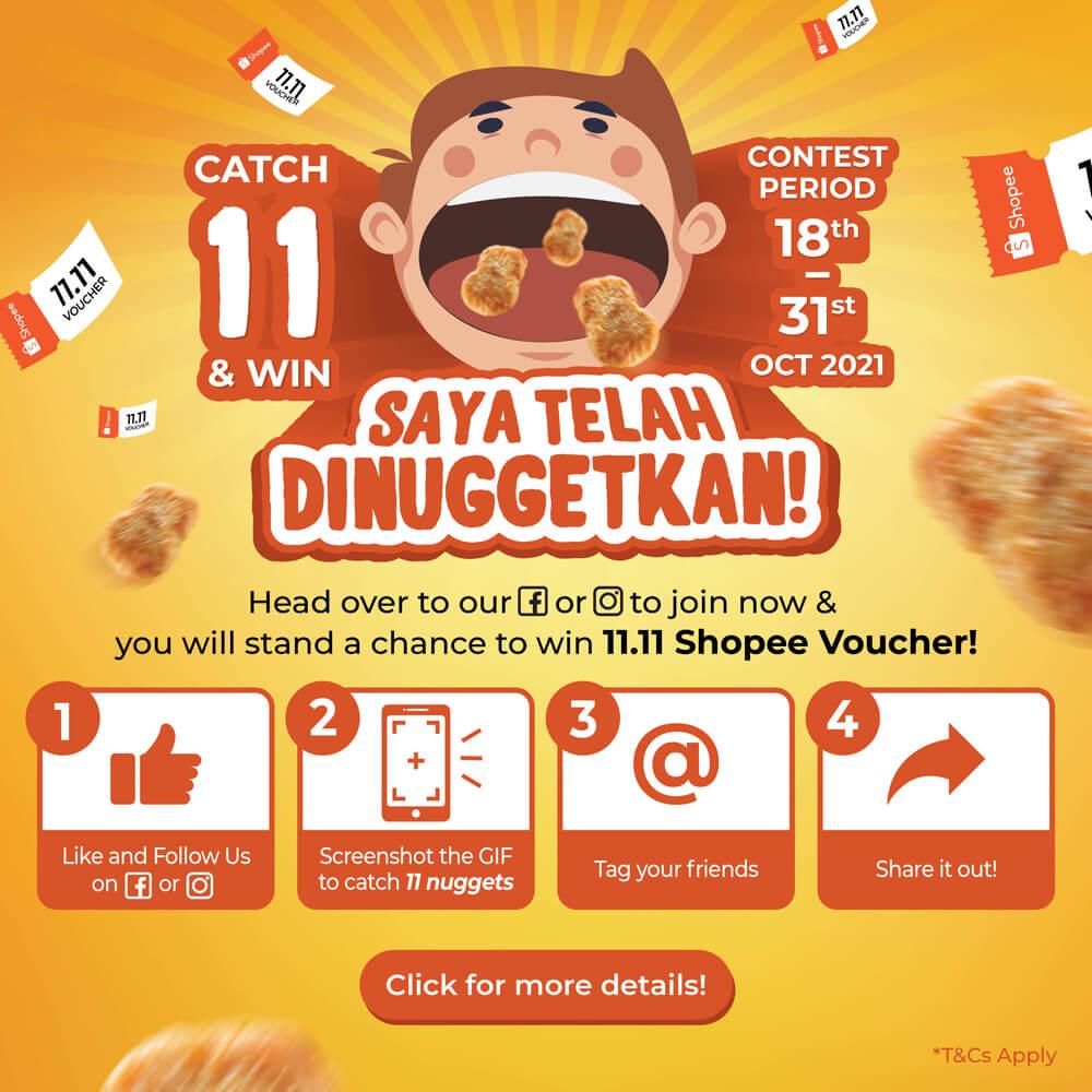 Chicken Nugget Promo